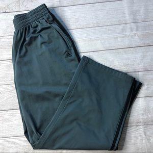 Adidas Mens Large Dark Gray Track Pants / Joggers